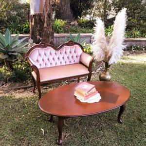 Petite love seat