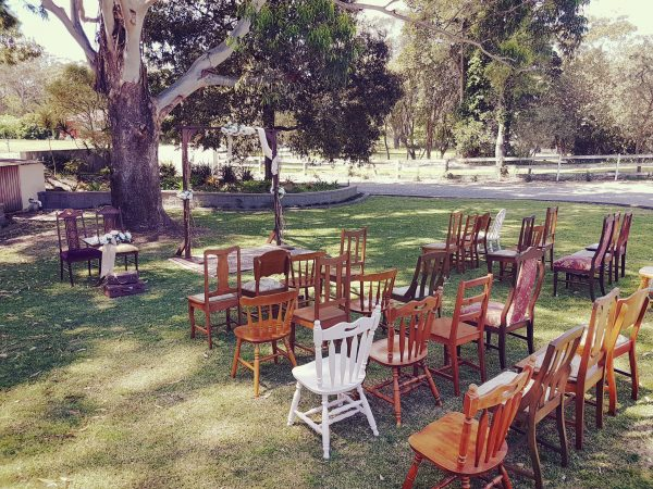 Timber chairs 1
