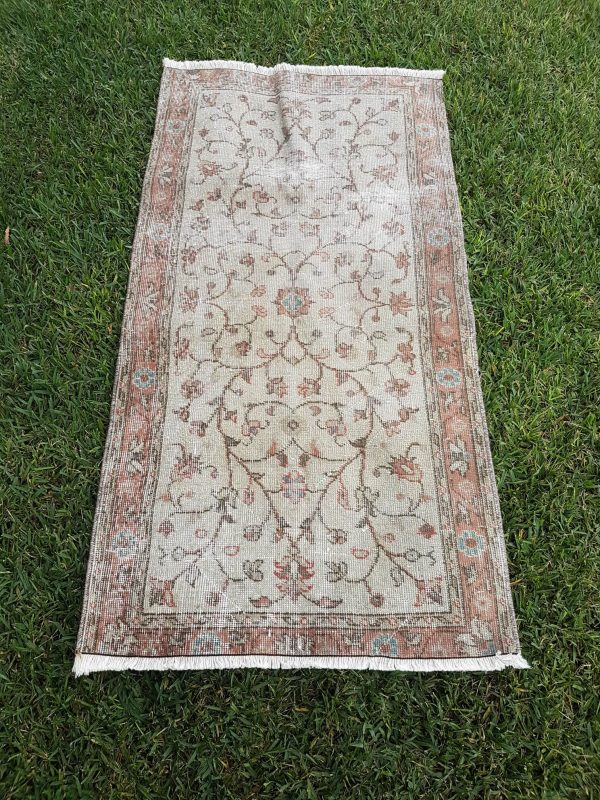 Beige Turkish rug 2