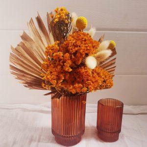 Barcelona rust vase