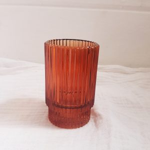 Barcelona rust votive/small vase