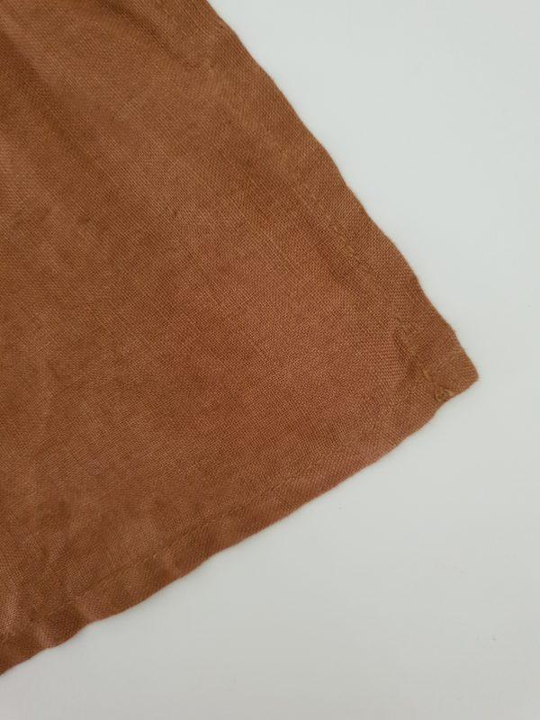 Linen napkin Rust